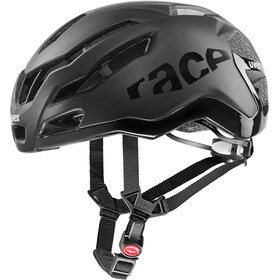 UVEX Race 9 Helmet, all black matt